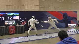 American Championships 2021 JME - GOLD - Skyler Liverant v Nick Lawson (Partial)