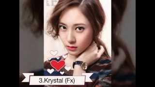 [TOP] 50 thành viên xinh đẹp trong các nhóm nhạc kpop 2015