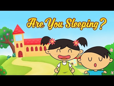 Are You Sleeping Brother John | Frère Jacques in English | Nursery Rhymes for Kids by Luke & Mary