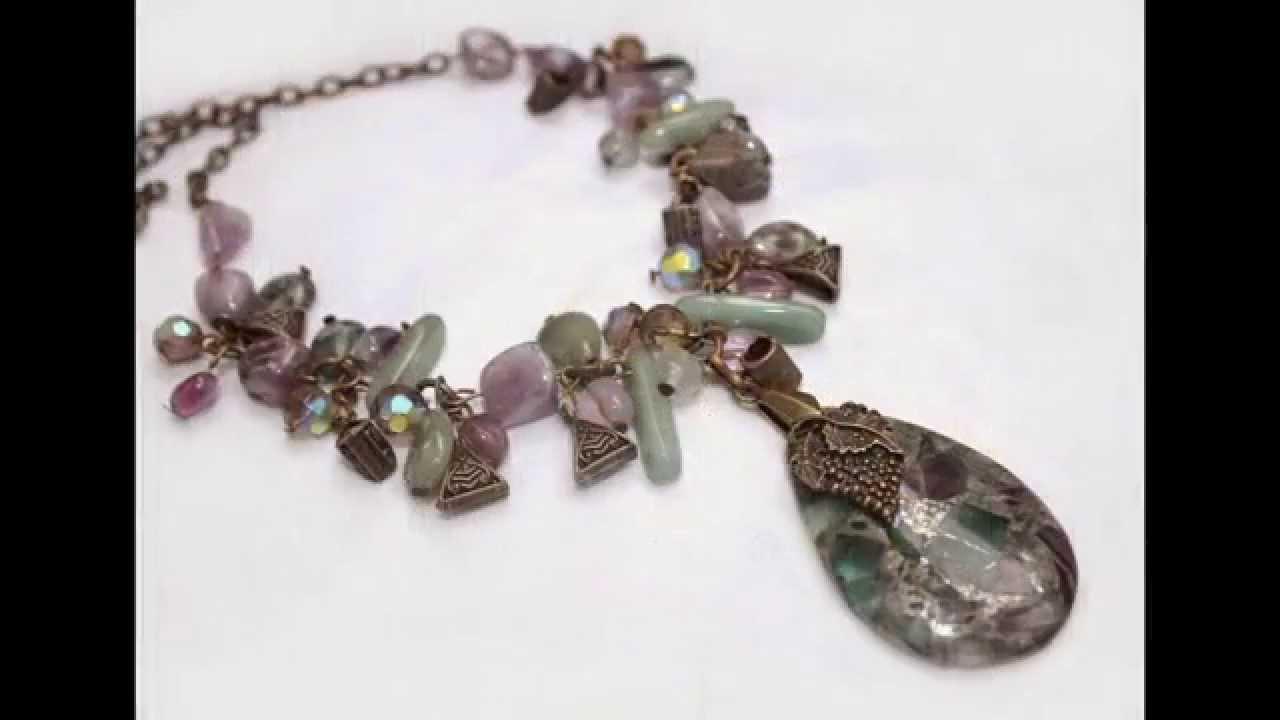 5951af0e45a0 Эксклюзивные дизайнерские украшения из натуральных камней - YouTube