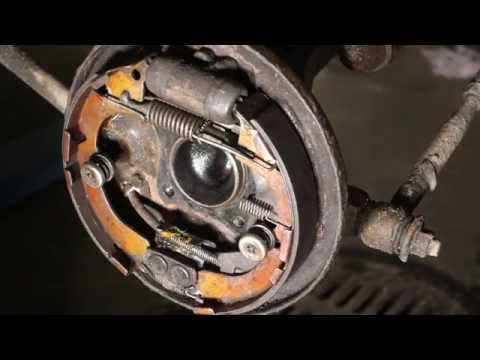 How to replace brake shoes Toyota Corolla(FULL). Rear drum. Years 1990 to 2005