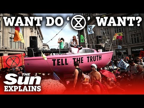 What do Extinction Rebellion want?