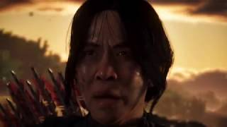 Ghost Of Tsushima   Official Gameplay Trailer Japanese Language   E3 2018