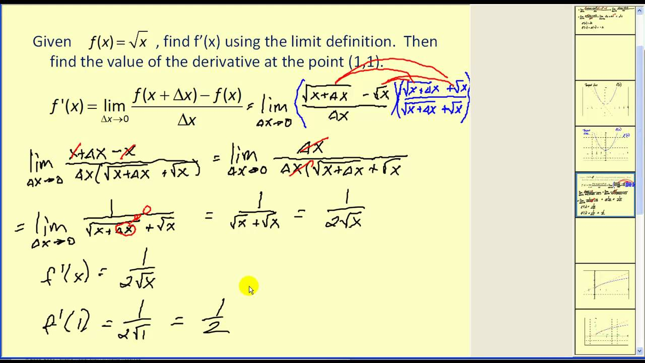 limit of a function pdf