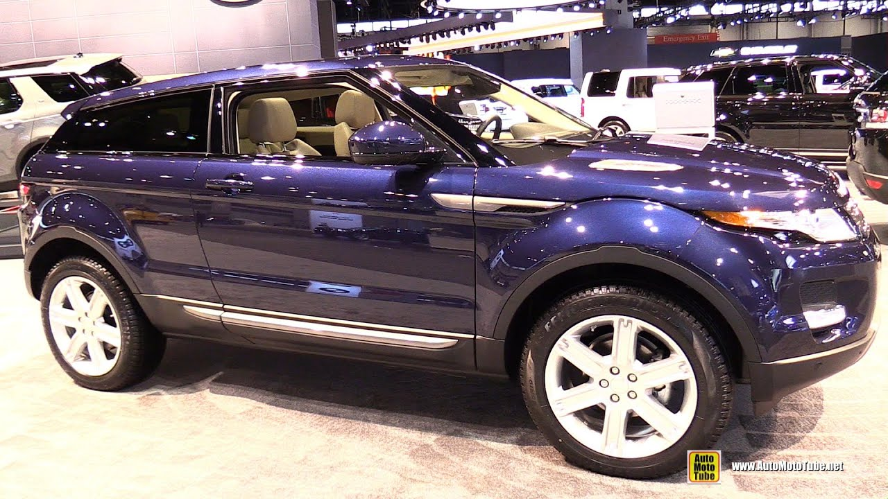 2015 Range Rover Evoque Coupe Exterior and Interior Walkaround
