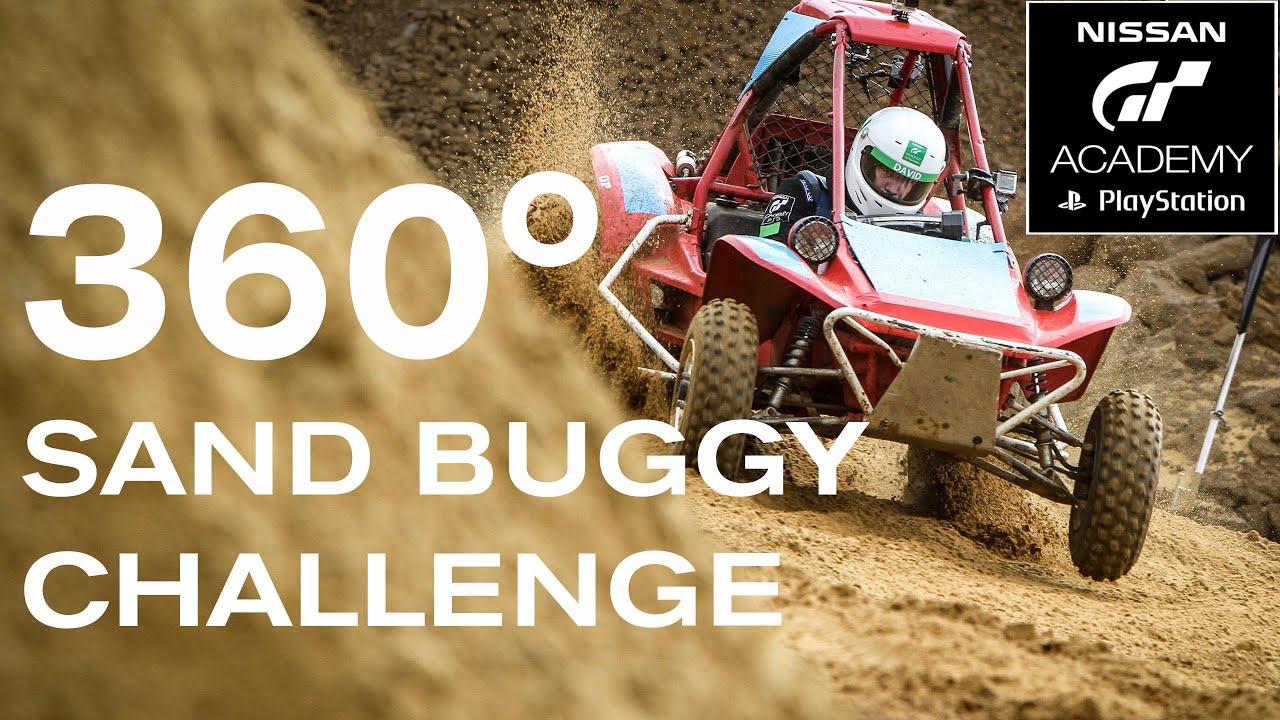 360 DEGREE SAND BUGGY RACING! #GTACADEMY - #360VIDEO