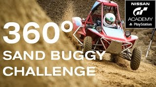360 DEGREE SAND BUGGY RACING! #GTACADEMY - #360VIDEO thumbnail