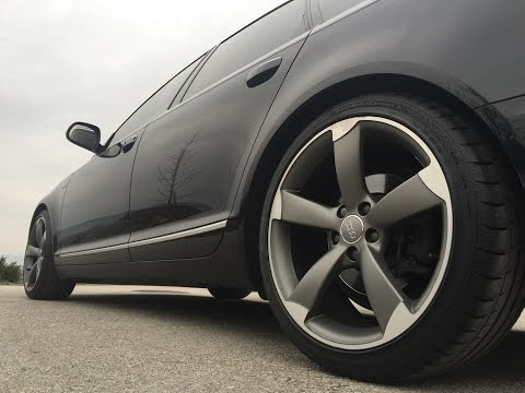 Audi A6 C6 - ROTOR wheels - GoPro HD
