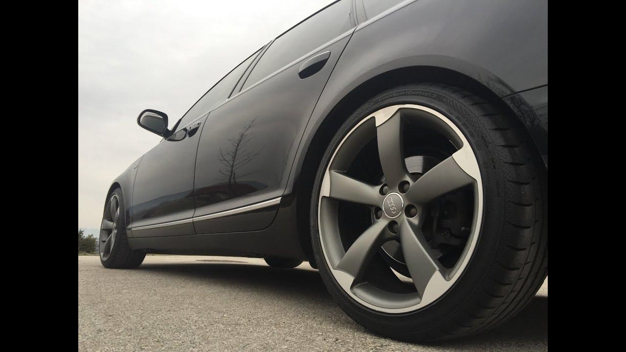 Audi A6 C6 Rotor Wheels Gopro Hd Youtube