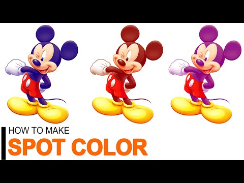 How to Create a #Spot Color in #Photoshop Tutorial thumbnail