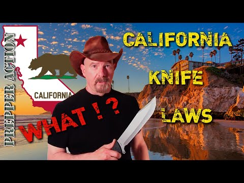 Knife carry laws of California