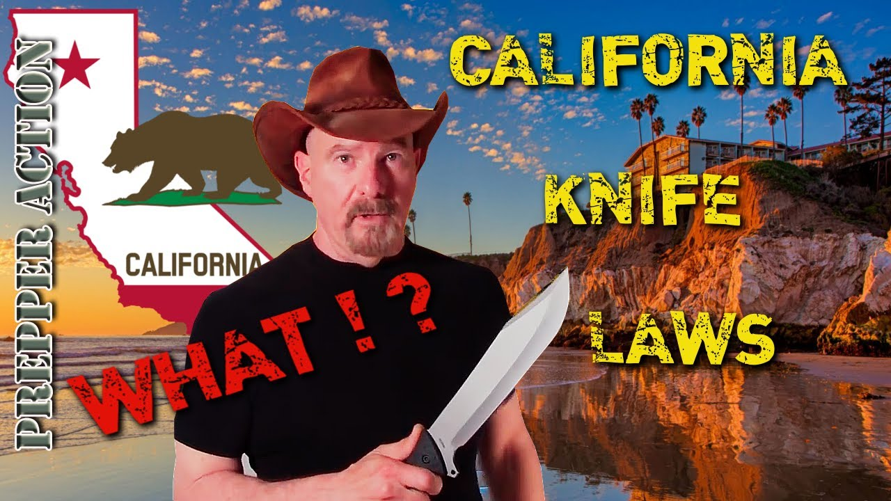 California knife carry laws