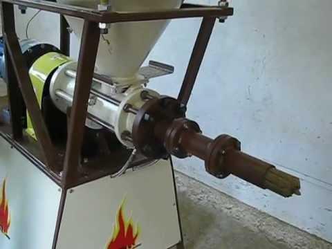 шнекова преса за еко брикети 50 кг/ч