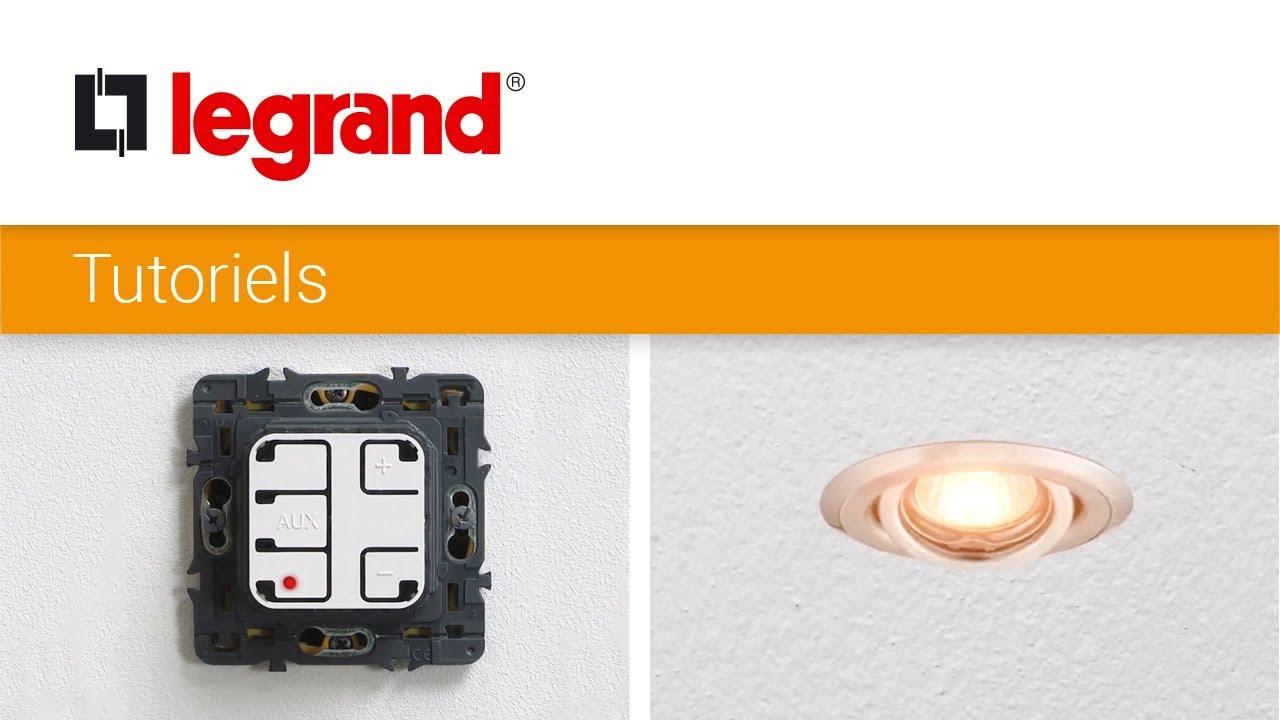 Lampes Et LegrandRéglage Led Ecovariateur Variateur Mini Des Maxi D'éclairement Du Seuils HW9IeEYD2