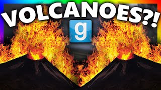 VOLCANO OUT OF NOWHERE?!?! | Gmod Natural Disasters (Gmod Sandbox Fun)