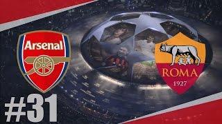 FIFA 17 | AS Roma-Arsenal | LIGA MISTRŮ ZAČÍNÁ !!! | PART 31 | XBOX ONE | CZ