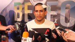 UFN 106: Joe Soto Reflects on Bloody Cut: 'It Just Felt Like Water All Over My Face'