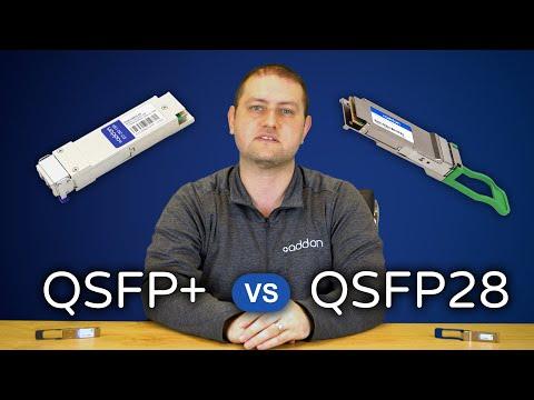 QSFP+ vs. QSFP28 Transceivers: The Breakdown
