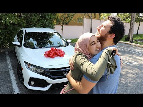 SURPRISING MY LITTLE SISTER WITH NEW CAR!!