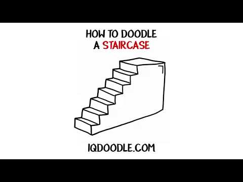 How to Draw a Staircase (drawing tips)