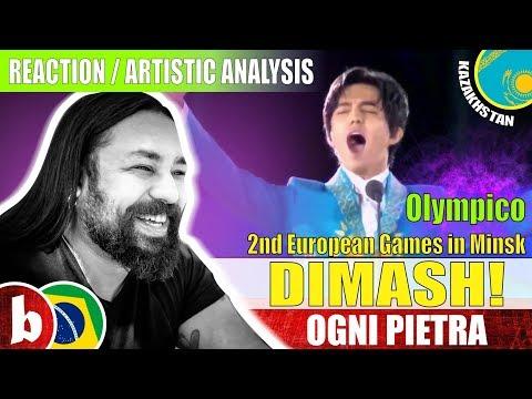DIMASH! Ogni Pietra [Olympico] - Reaction (SUBS)