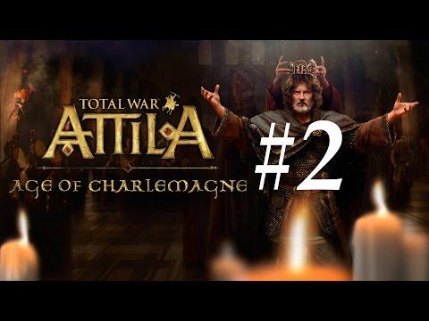 Total War: Attila - Age of Charlemagne Let's Play - Part 2: Battles of Frankfurt [Legendary]