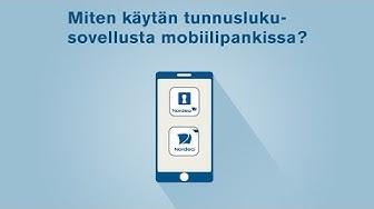 Miten käytän tunnuslukusovellusta asioidessani mobiilipankissa? | Nordea Pankki