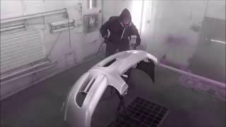 видео KIA Sportage 2: Бампер передний