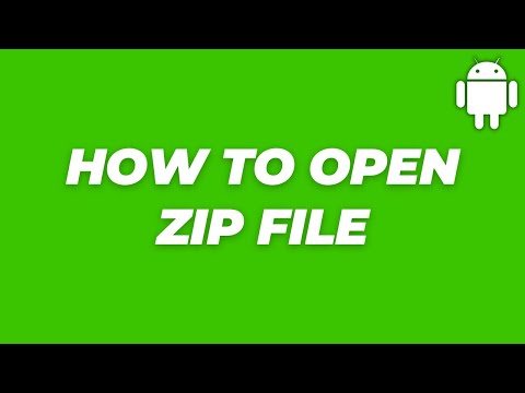 How To Open Zip Files In Android