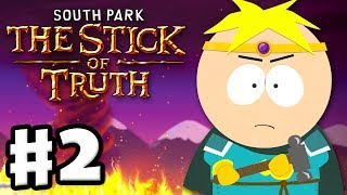 South Park: The Stick of Truth - Gameplay Walkthrough Part 2 - Paladin Butters (PC)