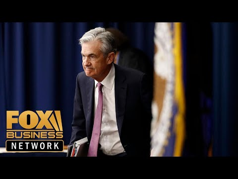 Fed Chair Jerome Powell speaks to press after cutting rates