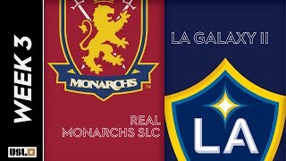 Real Monarchs SLC vs LA Galaxy II: March 23rd, 2019