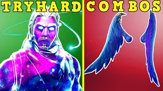 10 TRYHARD SKIN + BACKBLING COMBOS! (Sweaty) | Fortnite Battle Royale!