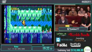 Awesome Games Done Quick 2015 - Part 16 - Ristar by Breakdown