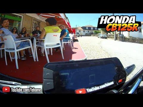🏍️ Honda CB125R - de Alcains a Tinalhas (SJ7 Star)