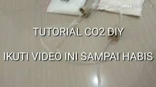TUTORIAL CO2 DIY CITRUN & BAKING SODA