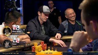 "Tom ""Durrrr"" Dwan Goes ALL-IN Semi-Bluffing in a $1,000,000 Pot"