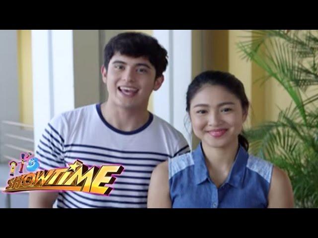 James Reid & Nadine Lustre for It's Showtime Kapamilya Day!