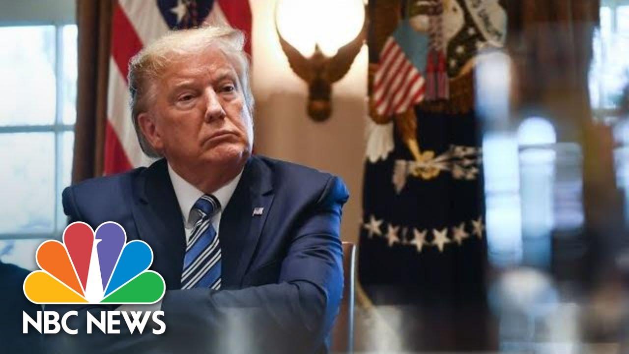 Trump Meets With Tourism Industry Executives On Coronavirus   NBC News (Live Stream Recording) - NBC News 3