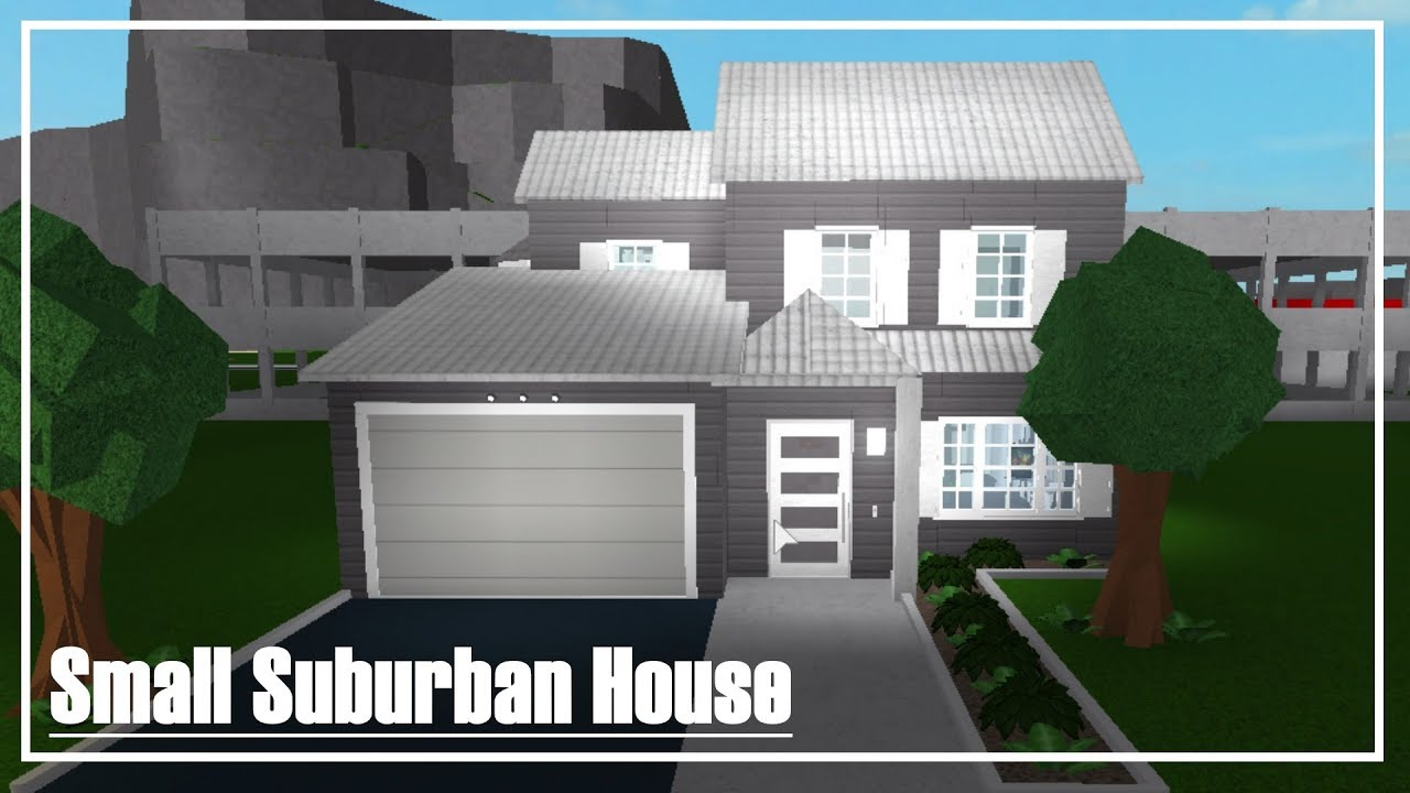 Roblox Welcome To Bloxburg Speed Build Small