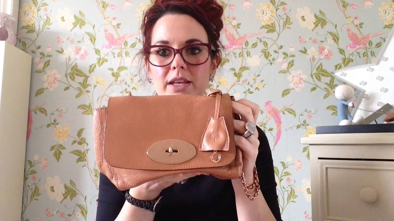 d8c11c8004e2 Review of a mulberry lily regular size in oak with rose gold hard wear  lovely colour