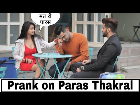 Marriage prank on Paras Thakral || Sneha Sachdeva