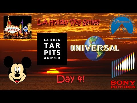 Los Angeles Vacation Vlog Day 4 - An Exclusive VIP Behind-The-Scenes Tour Of Universal, Hollywood!!