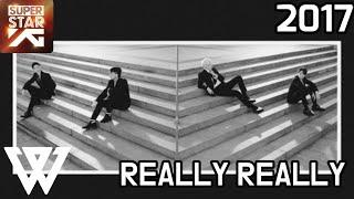 [SUPERSTAR YG] 위너(WINNER) - REALLY REALLY (2017)