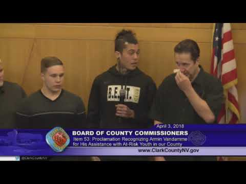 City Athletic Boxing Recieves Proclamation From Clark County