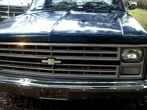 85 Chevy C10 Parts Truck 383 Stroker Blocc Ryderz Youtube