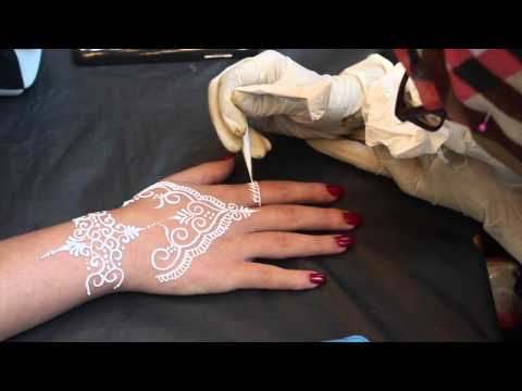 White Henna  Eid Addition