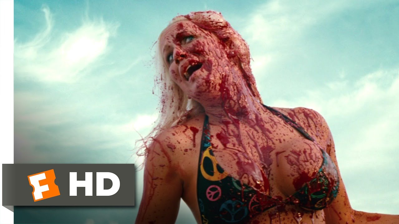 The new movie piranha 3d