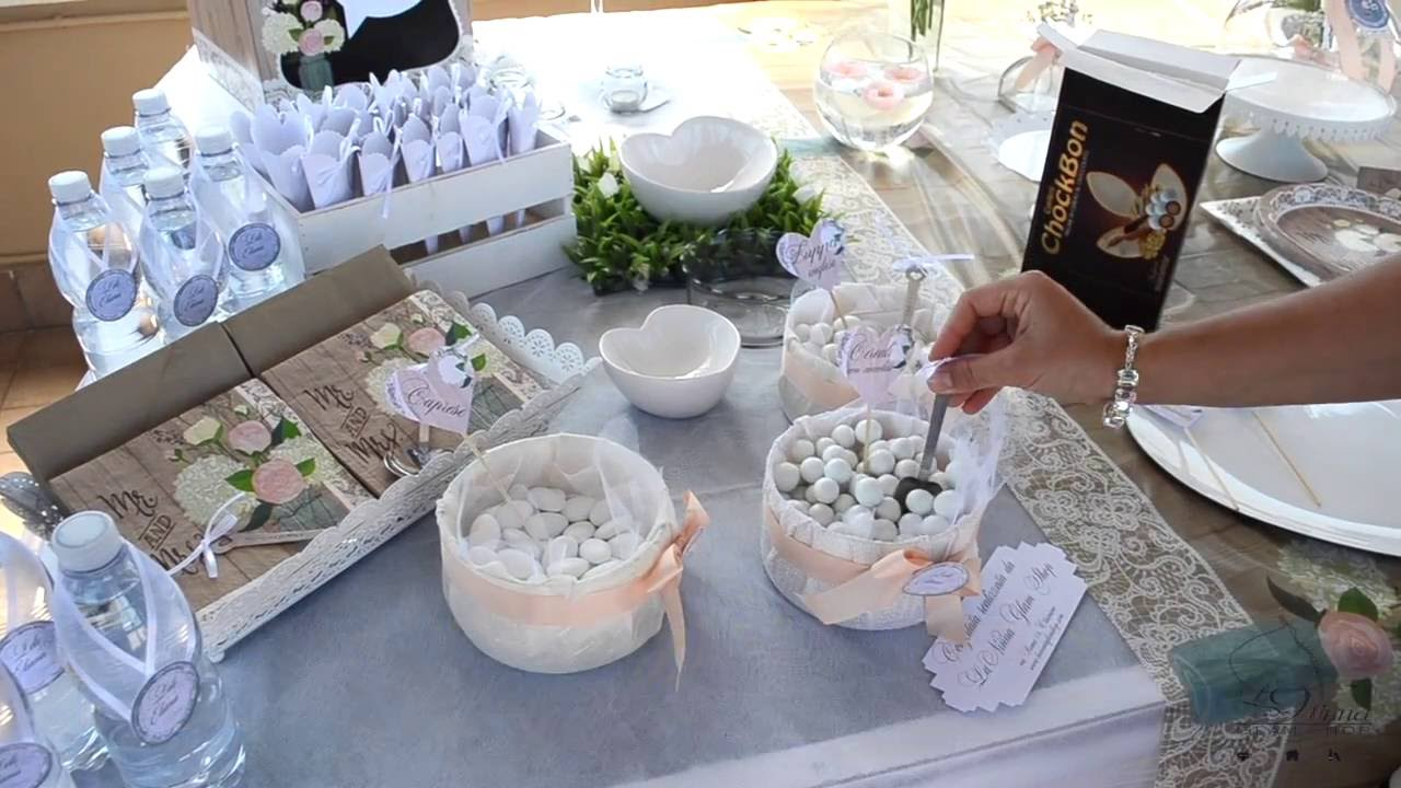 Matrimonio Country Chic Basilicata : La nostra confettata per un matrimonio country chic youtube