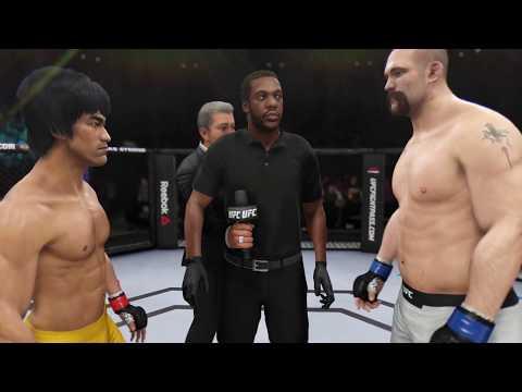 Bruce Lee vs. Tim Johnson (EA Sports UFC 3) - Rematch (CPU vs. CPU)